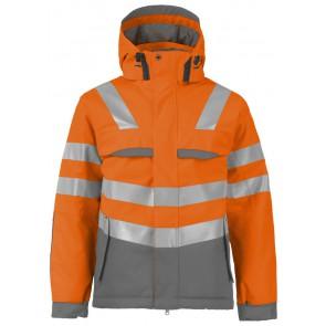 Projob 6422 Jas - ISO 20471 Klasse 3 Oranje/Grijs