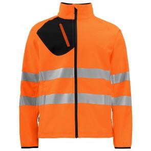 Projob 6432 Softshell jas Oranje/Zwart