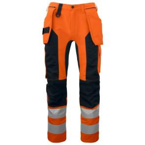 Projob 6513 Werkbroek Oranje/Zwart
