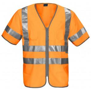 Projob 6707 Veiligheidshesje Klasse 3 Oranje