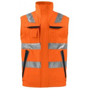 Projob 6711 Jacket Oranje/Zwart