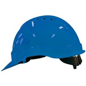 M-Safe PE veiligheidshelm MH6000 blauw met schuifinstelling