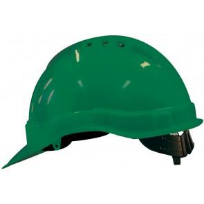 M-Safe PE veiligheidshelm MH6000 groen met schuifinstelling
