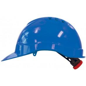 M-Safe PE veiligheidshelm MH6010 blauw met draaiknop