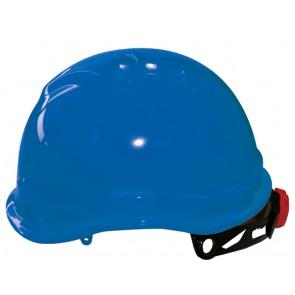 M-Safe MH6030 veiligheidshelm blauw met draaiknop korte klep