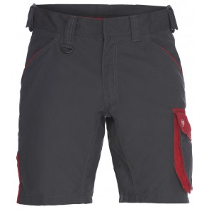F. Engel 6810-254 Shorts Antraciet/Rood