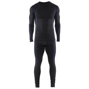 Blåkläder 6810-1707 Light technical Onderkledingset Zwart/Korenlblauw