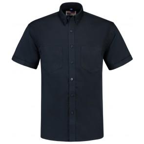 Tricorp 701003 Werkhemd Korte Mouw Basis Marineblauw