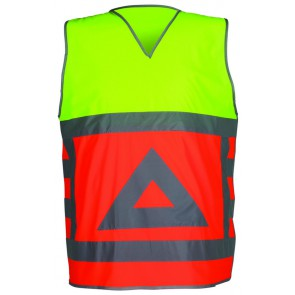 Havep 7050 Veiligheidsvest RWS Fluo Oranje/Fluo Geel