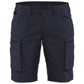 Blåkläder 7149-1845 Dames Service Short Donker marineblauw/Zwart