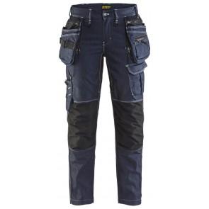 Blåkläder 7990-1141 Dames werkbroek Marineblauw/Zwart