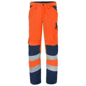 Havep 80228 Werkbroek Fluo Oranje/Marine