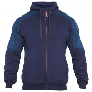 F. Engel 8820-233 Hoody Sweater Inkt Blauw/Diesel Blauw