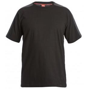 F. Engel 9810-141 T-Shirt Zwart/Antraciet