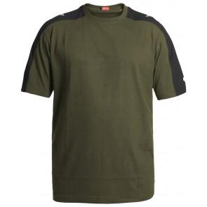 F. Engel 9810-141 T-Shirt Groen/Zwart