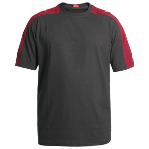 F. Engel 9810-141 T-Shirt Antraciet/Rood
