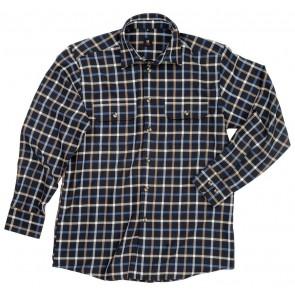 FHB Alois Werkhemd Marineblauw-Korenblauw