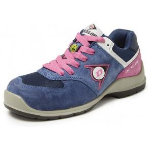 Dunlop Lady Arrow lage veiligheidssneaker S3 blauw