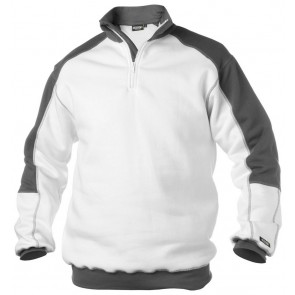 Dassy Basiel sweatshirt Wit/Grijs