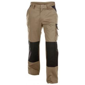 Dassy Boston werkbroek met kniezakken Beige/Zwart