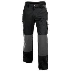 Dassy Boston werkbroek met kniezakken Zwart/Grijs - 300 g/m²
