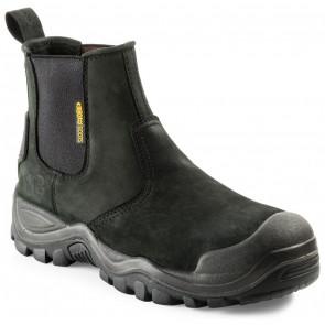 Buckler Boots BSH006BK Buckshot 2 S3 Instapper Zwart