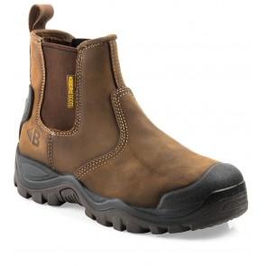 Buckler Boots BSH006BR Buckshot 2 S3 Instapper Bruin