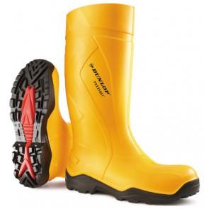 Dunlop C762241 Purofort+ knielaars S5 geel