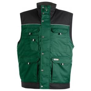 Dassy Hulst bodywarmer Groen/Zwart
