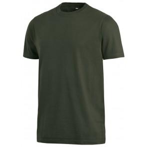 FHB Jens T-Shirt eenkleurig Olijfgroen