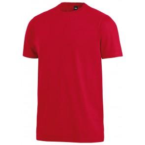 FHB Jens T-Shirt eenkleurig Rood