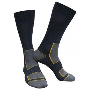 Dassy Juno Wollen sokken Zwart/Grijs