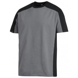 FHB Marc T-Shirt tweekleurig Grijs-Zwart