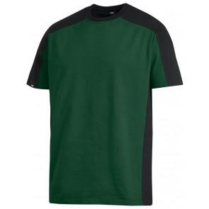 FHB Marc T-Shirt tweekleurig Groen-Zwart