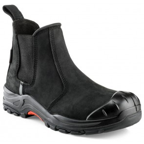 Buckler Boots Nubuckz S3 Instapper Zwart