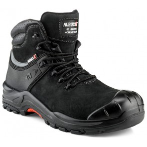 Buckler Boots Nubuckz S3 Hoog Zwart