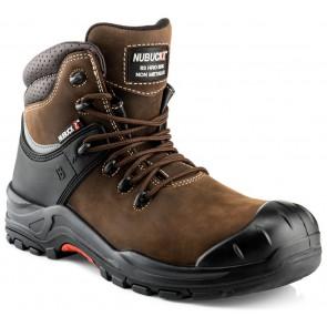 Buckler Boots Nubuckz S3 Hoog Bruin