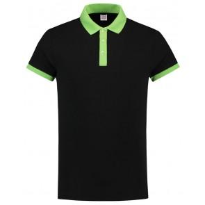 Tricorp 201002 Poloshirt Slim Fit Zwart-Lime