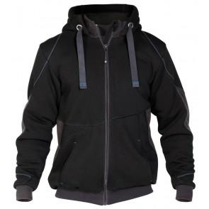 Dassy Pulse sweatshirt jas D-FX Zwart/Grijs