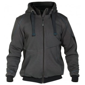Dassy Pulse sweatshirt jas D-FX Grijs/Zwart