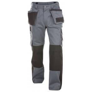Dassy Seattle multizakkenbroek met kniezakken Grijs/Zwart 300gr