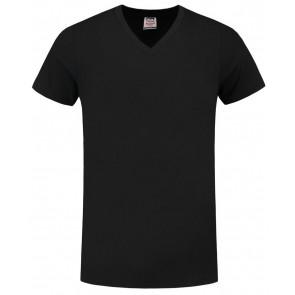 Tricorp 101005 T-Shirt V Hals Slim Fit Zwart
