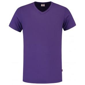 Tricorp 101005 T-Shirt V Hals Slim Fit Purple