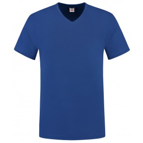 Tricorp 101005 T-Shirt V Hals Slim Fit Royalblue