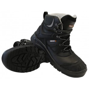 Dassy Thanos S3 S3 Werkschoenen Hoge schoen Zwart