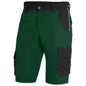 FHB Theo Bermuda Twill Groen-Zwart