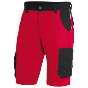 FHB Theo Bermuda Twill Rood-Zwart