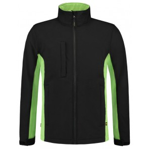 Tricorp 402002 Softshell Zwart-Lime