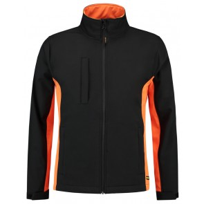 Tricorp 402002 Softshell Zwart-Oranje