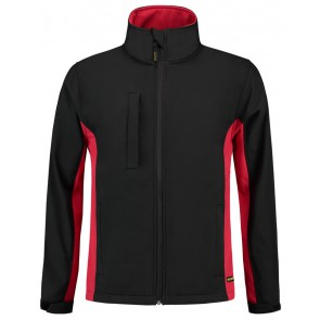 Tricorp 402002 Softshell Zwart-Rood